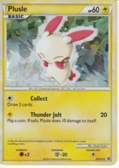 Plusle HGSS16 Cracked Ice Holo Promo - HS Undaunted Blister Exclusive