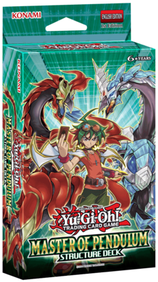 Yu-Gi-Oh Structure Deck: Master of Pendulum - 1st Edition