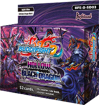 Buddyfight BFE-D-SD03 Hollow Black Dragon Start Deck