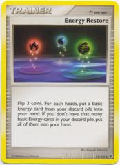 Energy Restore - 81/100 - Uncommon