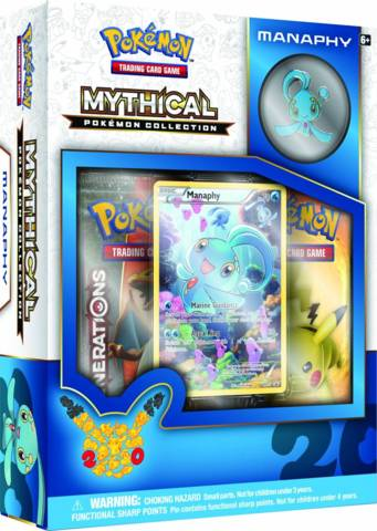 Pokemon Mythical Collection: Manaphy
