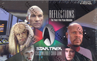 Star Trek CCG Reflections Booster Box The First Five-Year Mission