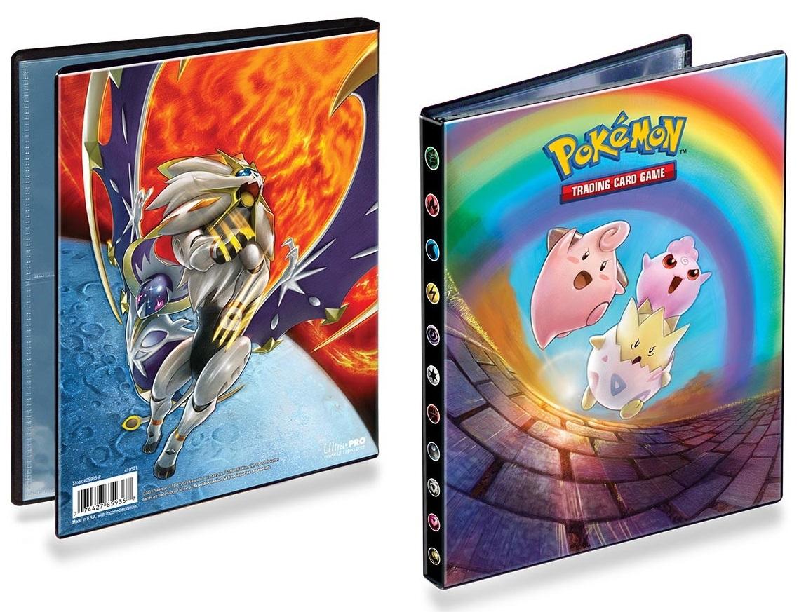 Orange Ultra Pro 9 Pocket 20 Pages 360 card Binder magic yugioh Pokemon vanguard