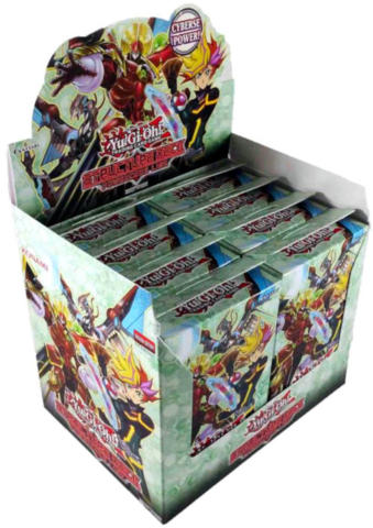 Yu-Gi-Oh Structure Deck: Powercode Link Display Box 8ct