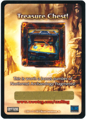 Crown of the Heavens Treasure Chest Loot Card