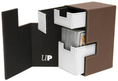 Ultra Pro M2.1 Deck Box - Brown/White