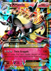 Mega Mawile EX XY104 Holo Promo - Mega Mawile EX Premium Collection Exclusive