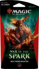 MTG War of the Spark Theme Booster Pack - Red