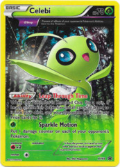 Celebi XY93 Cosmos Holo Promo - BREAKthrough Blister Exclusive
