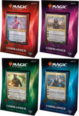 MTG Commander 2018 Decks: Set of 4