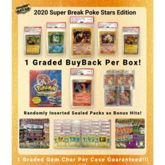 2020 Super Break Pokemon Poke Stars Buyback Edition Box - Please Read Description!