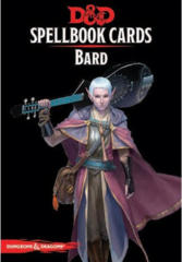 Dungeons & Dragons 5th Edition Spellbook Cards: Bard