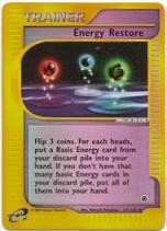 Energy Restore - 141/165 - Uncommon - Reverse Holo