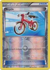 Bicycle - 117/135 - Uncommon - Reverse Holo