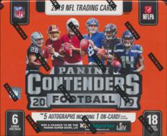 2019 Panini Contenders NFL Football Hobby Box