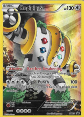 Regigigas XY82 Full-Art Holo Promo - Pikachu Legendary Collection Exclusive