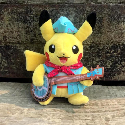 Pokemon 2018 Worlds Nashville Pikachu Plush 8