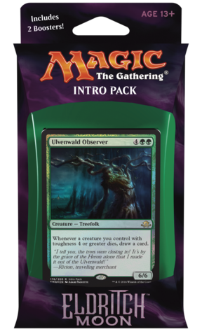 MTG Eldritch Moon Intro Pack - Green Weapons and Wards Deck
