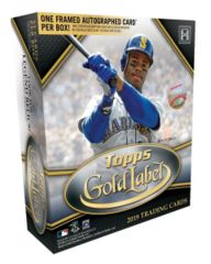 2019 Topps Gold Label MLB Baseball Hobby Box