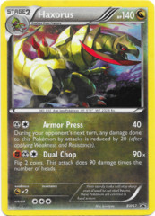 Haxorus BW57 Cosmos Holo Promo - Boundaries Crossed Blister Exclusive