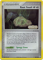 Root Fossil - 80/92 - Common - Reverse Holo