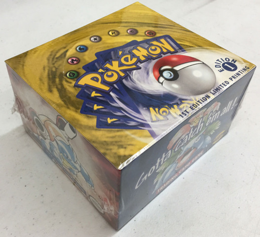 Pokemon Base Set Booster Box - 1st Edition (English)
