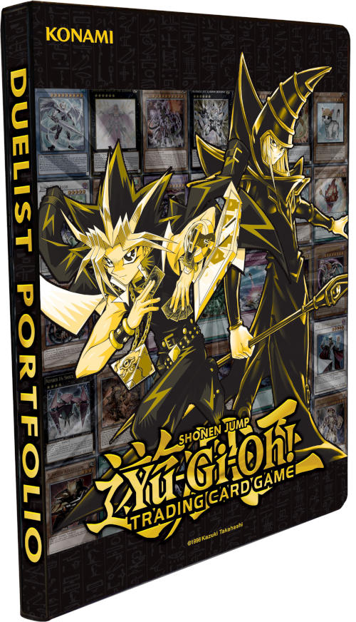 Konami Yu-Gi-Oh! Golden Duelist Collection 9-Pocket Portfolio