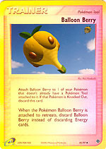 Balloon Berry 82/97 - Uncommon - Reverse Holo