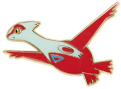 Latias Pin - Dragon Majesty Latios Pin Collection