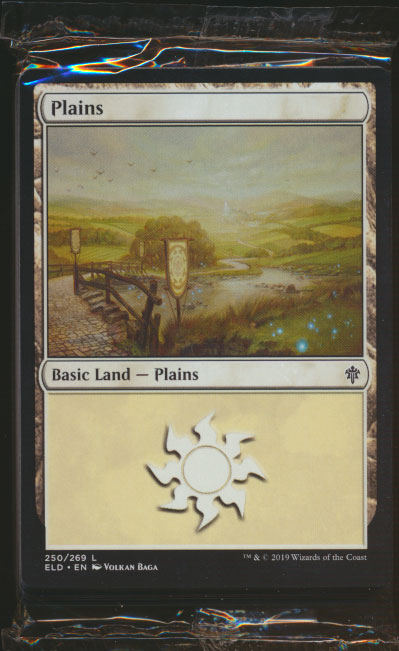 MTG Throne of Eldraine GIFT Edition - Sealed Land Pack (4 of each Basic Land)