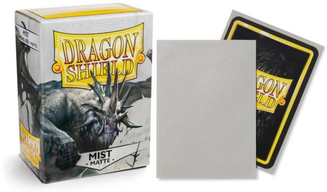 Dragon Shield Matte Standard-Size Sleeves - Mist - 100Ct -7430