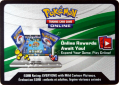 Reshiram & Charizard-GX League Battle Deck TCG Online Code Card