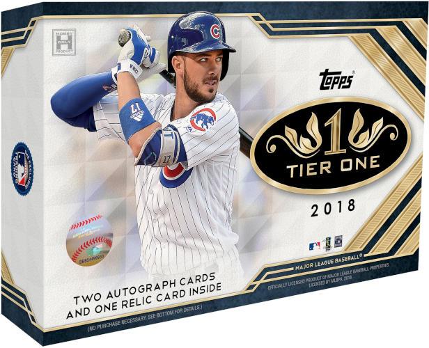 Topps 2018 Tier One Baseball Hobby Box Sports Cards Trading