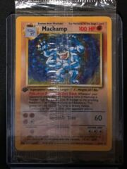 Machamp - 8/102 - Holo Rare - 1st Edition - REGULAR Base Set Version SEALED!