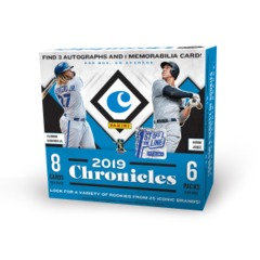2019 Panini Chronicles MLB Baseball Hobby Box