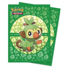 Ultra Pro Standard Size Pokemon Sleeves - Grookey - 65ct