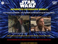 2019 Topps Star Wars Authentics Blind Purchase Series #2 Hobby Box