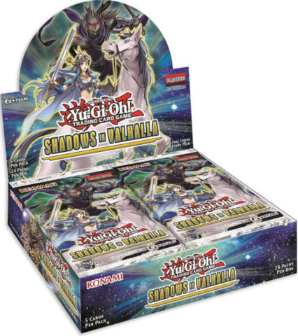 Yu-Gi-Oh Shadows in Valhalla 1st Edition Booster Box