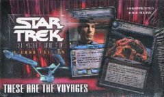 Star Trek CCG These Are the Voyages Booster Boxes