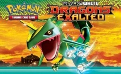 Pokemon Dragons Exalted Reverse Holo Set BW6