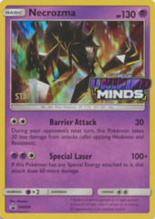 Necrozma SM204 Wave Holo STAFF Promo - SM11 Unified Minds Prerelease