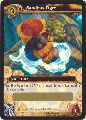 Sandbox Tiger Loot Card