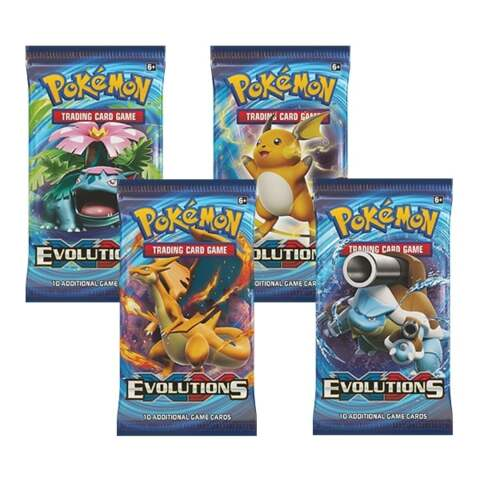 Pokemon XY12 Evolutions 36ct Booster Pack Lot