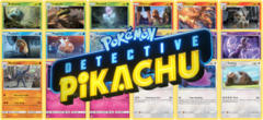 Pokemon Detective Pikachu Complete Mini-Set (18 Cards)