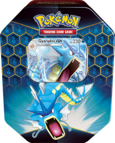 Pokemon Hidden Fates Tin: Gyarados GX