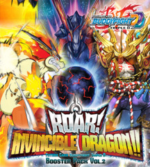 Buddyfight BFE-D-BT02 Roar! Invincible Dragon Booster Pack