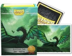 Dragon Shield Matte Art Standard-Size Sleeves - Rayalda - 100ct
