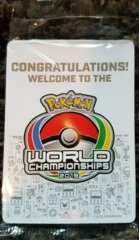 SEALED Champions Festival Promo Pack - 2019 Pokemon World Championships