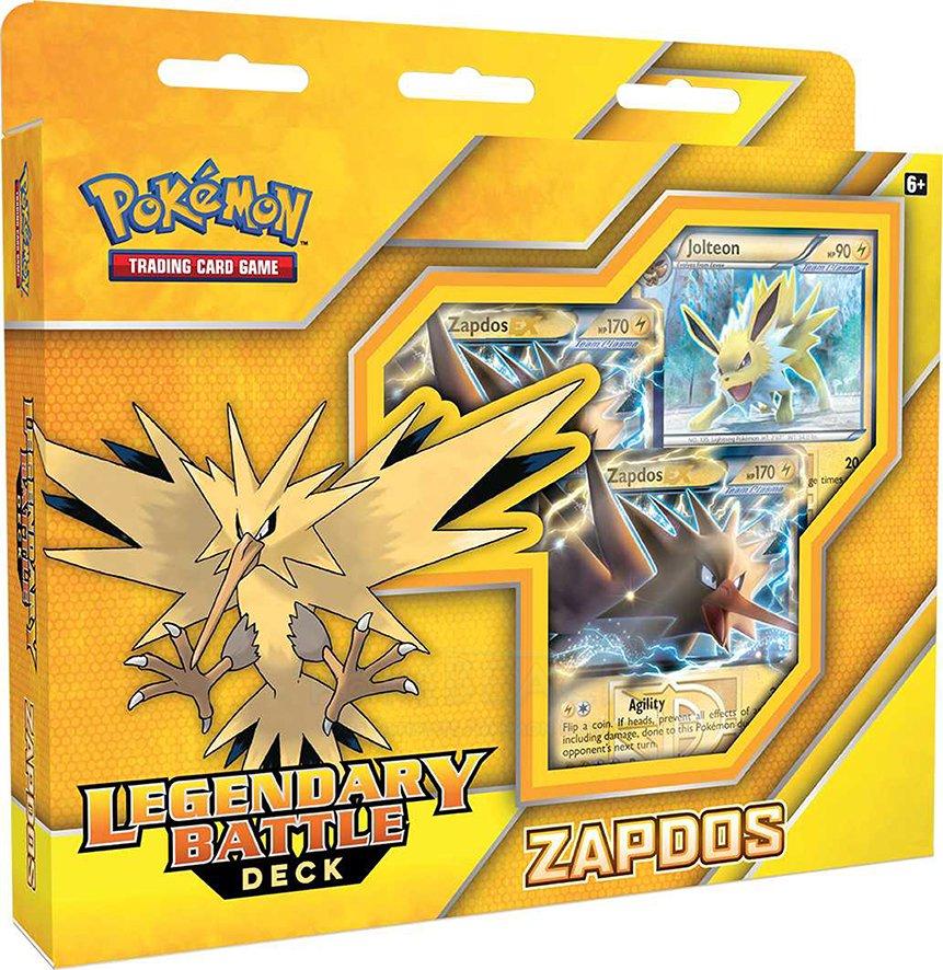Pokemon Legendary Battle Deck: Zapdos