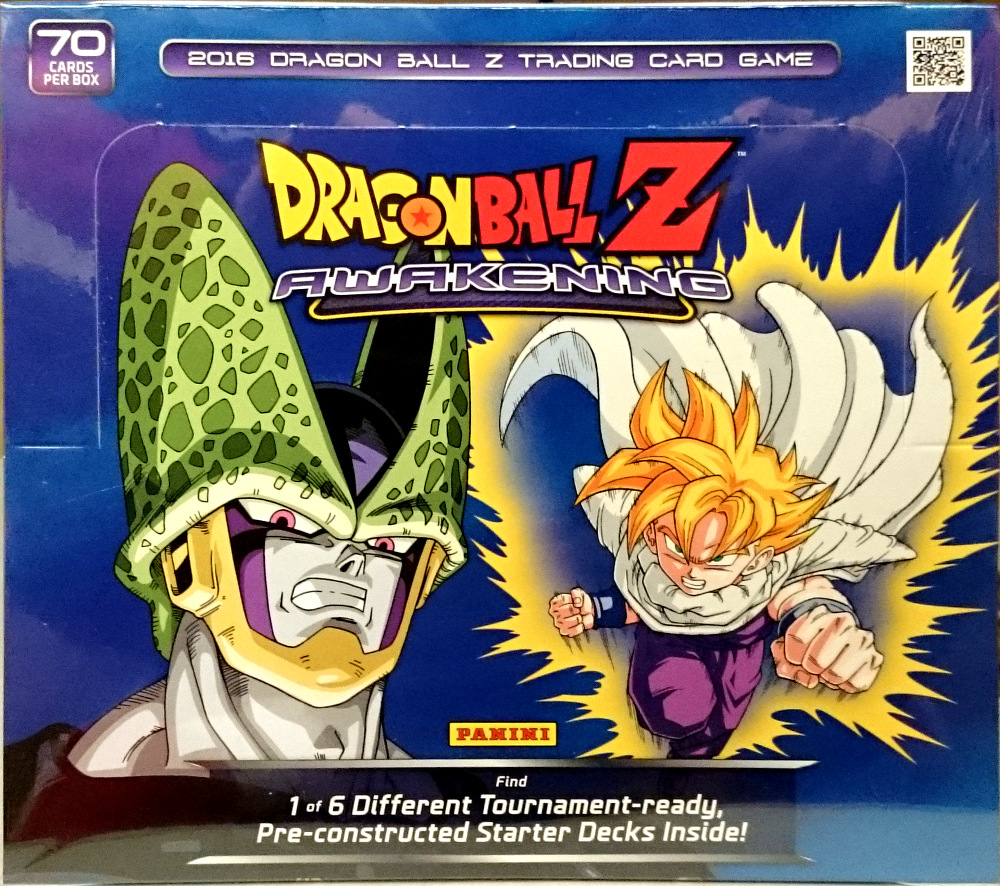 DRAGON BALL Z DBZ PANINI Awakening 20-Pack Booster Box
